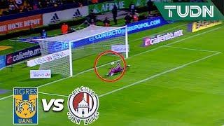 ¡Trallazo de Nico López! | Tigres 0 - 0 San Luis | Liga Mx - CL 2020 J1 | TUDN