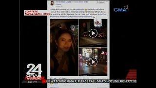 24 Oras: Ma. Isabel Lopez, dumaan sa ASEAN lane kahit bawal