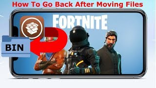 Fortnite Mobile - How To Revert Back to Original State After Fortnite Bypass (Tutorial)
