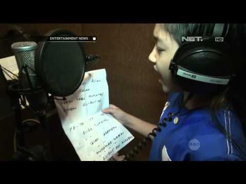 Keisha Alvaro Rekaman Lagu Religi Untuk Ramadhan