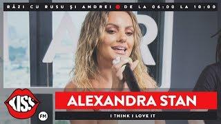 Alexandra Stan - I Think I Love It (Live KissFM)