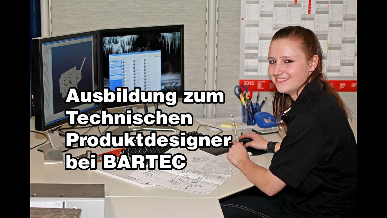 Ausbildung zum technischen produktdesigner youtube for Ausbildung produktdesigner