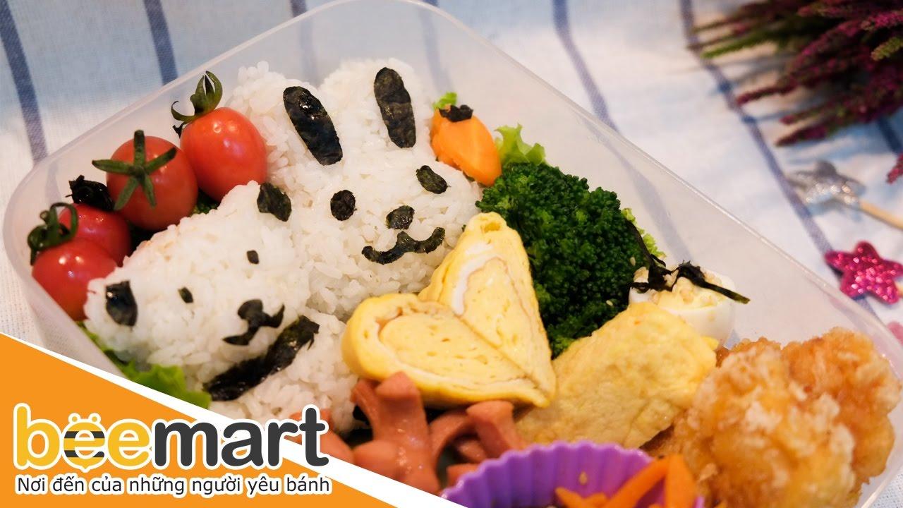 Cách làm hộp cơm Bento cực ngon, cực đơn giản - BEEMART