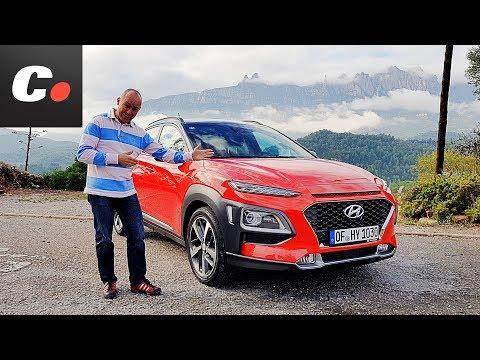 Hyundai Kona 2018 SUV Hyundai Kauai Primera prueba Test Review en espaol coches.net
