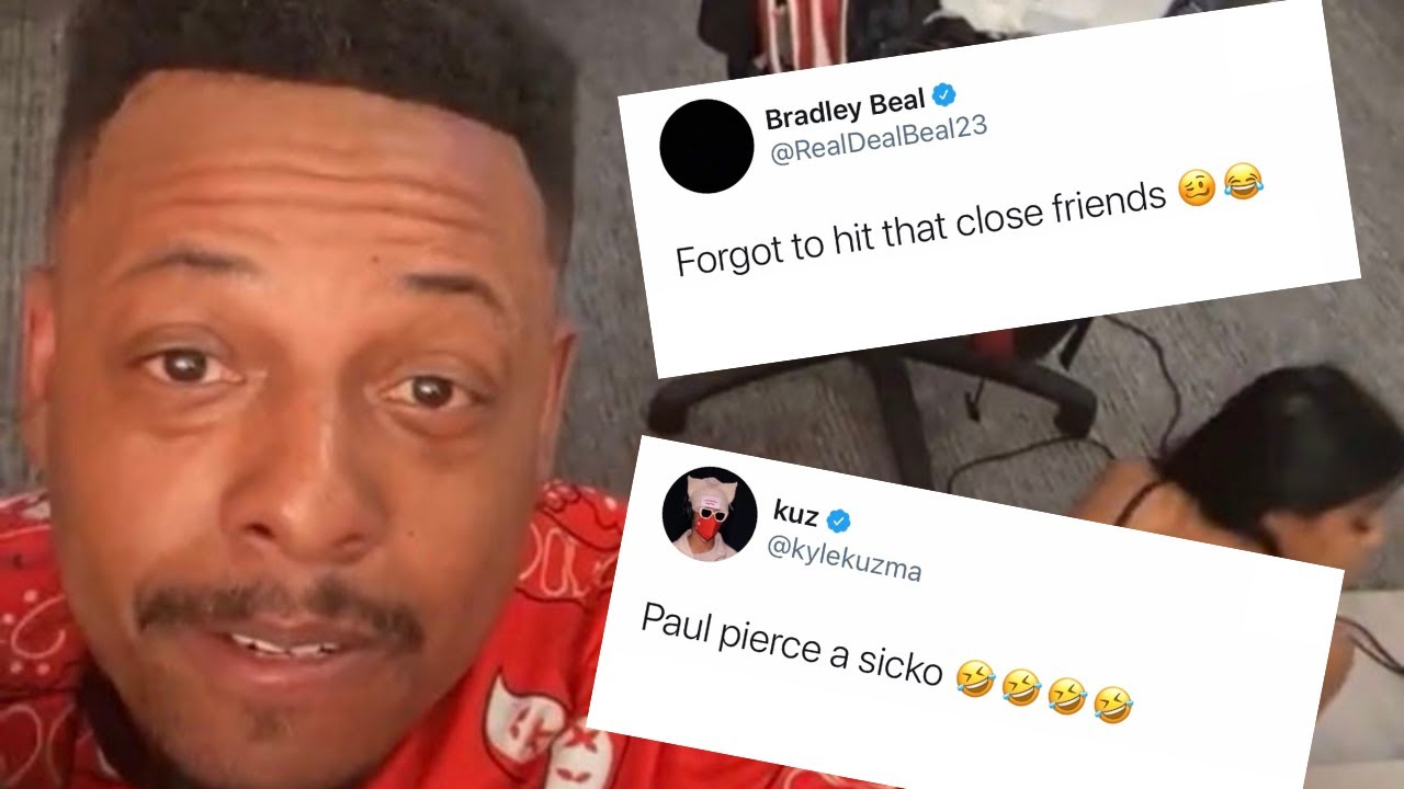 Paul Pierce Went on Instagram Live With a Room Full of Strippers ...