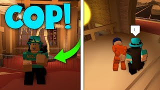 HOW TO ENTER THE MUSEUM AS A COP! (Roblox Jailbreak Glitch)
