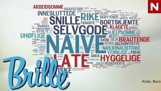 Repeat youtube video Brille - Hva sier nordmenn om nordmenn?