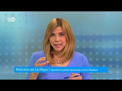 oposicion venezolana en Europa tramita demanda contra Nicolas Maduro ante CPI