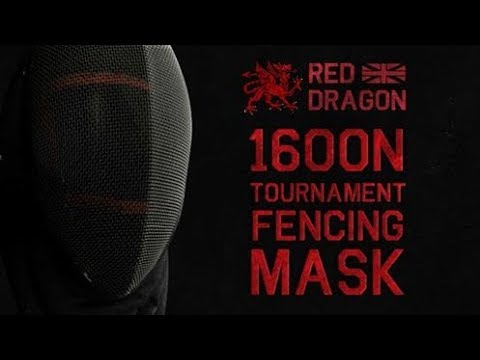 New Red Dragon / HEMA Shop Fencing Mask 1600N