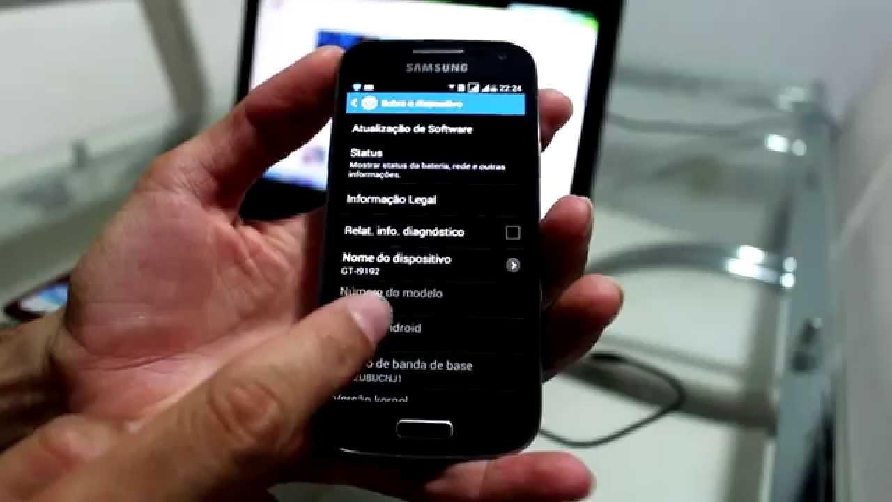 Smartphone Samsung Galaxy S4 Mini Gt I9192: SOLUÇÃO: Samsung Galaxy S4 Mini I9192 Não Liga Ou