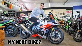 Shopping For a New Motorcycle!