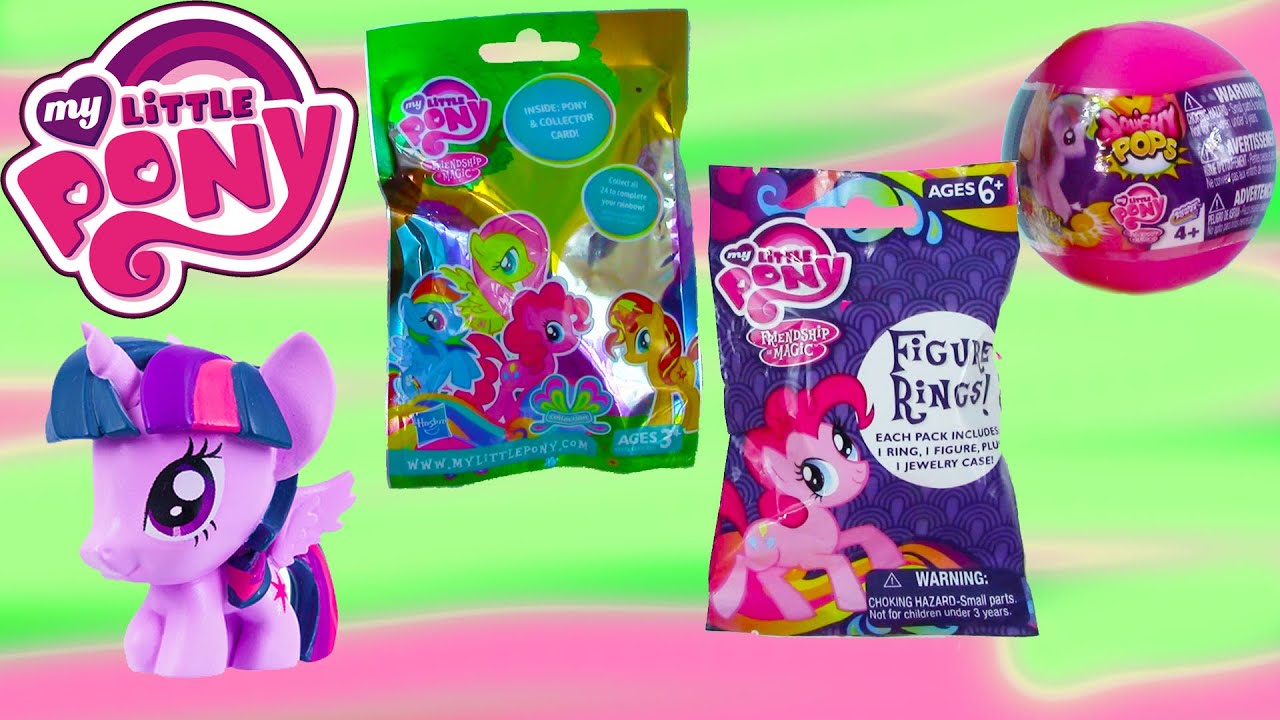 Squishy Pops Blind Bags : MLP Squishy POPS Ball Blind Bags Surprise Mystery Figure Rings My Little Pony Opening ...