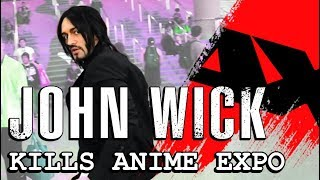 John Wick Kills Anime Expo 2019 - With Leon Chiro