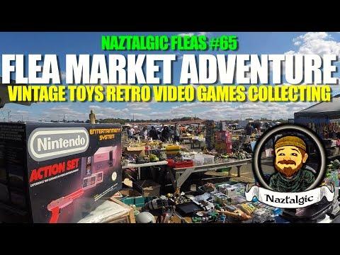 FLEA MARKET HUNT #65 Retro Video Games, Vintage Toys,