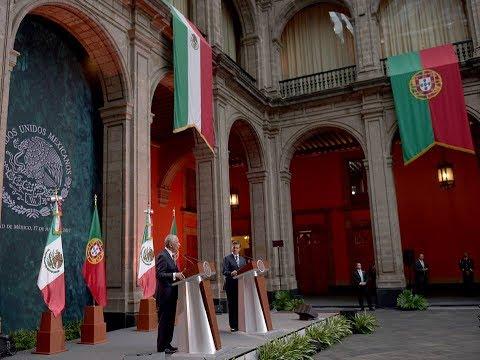 Visita de Estado del Presidente de la República Portuguesa: Mensaje a Medios de Comunicación
