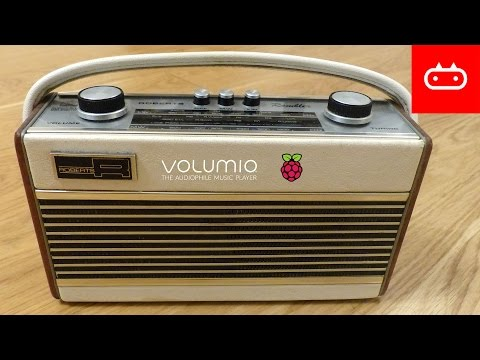 Giving a vintage radio a 21st-century makeover with a Raspberry Pi Zero W