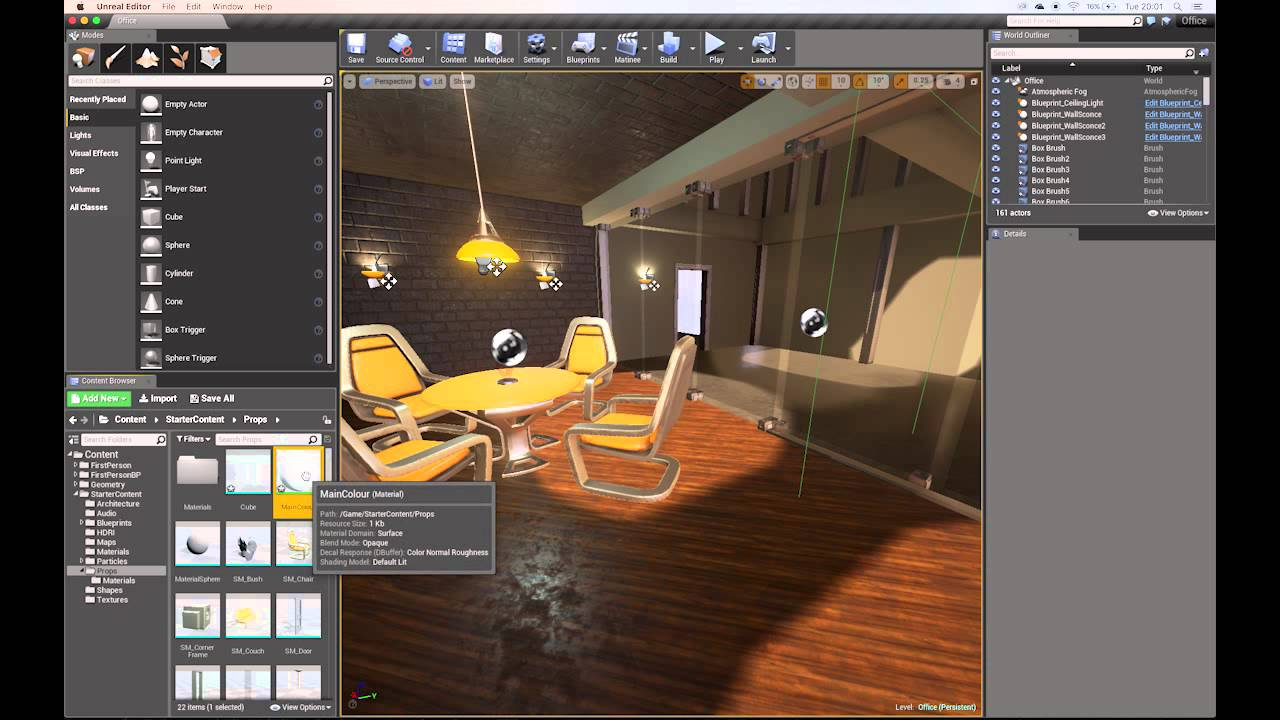 Export Static Mesh from Maya 2016 to UE4 Part 1