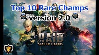 RAID: SL - Top 10 Rare Champions v2.0