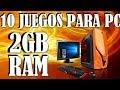 10 JUEGOS PARA PC QUE CORREN CON 2GB DE RAM #2│[+LINKS] JUEGOS DE MEDIOS REQUISITOS