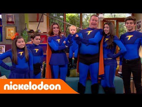 I Thunderman Foto Di Famiglia Con Chloe Nickelodeon Italia