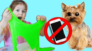 24 ЧАСА без Телефона Как ЯНА справиться Мама придумала ЧЕЛЛЕНДЖ