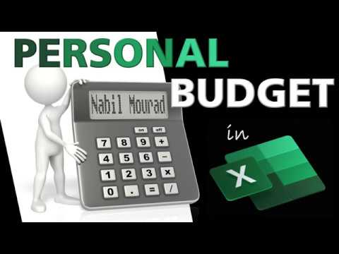 Create a Personal Budget - With lots of Excel Tips and Tricks