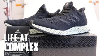 ADIDAS FUTURECRAFT 4D SNEAKERS | #LIFEATCOMPLEX