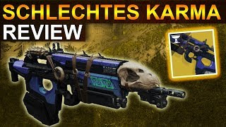 Destiny 2: Schlechtes Karma Review & Waffentest (Deutsch/German)
