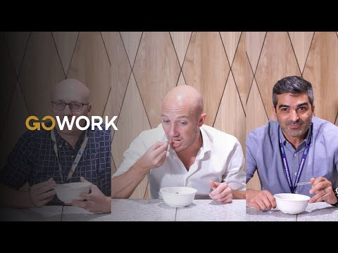 International CEOs Try Indonesian Food | GoWork