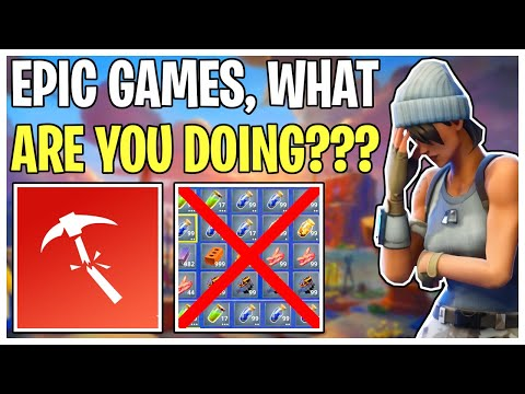 Epic Games Breaks STW With Update V11.40! Server Issues & Inventory Wipes | Fortnite Save The World