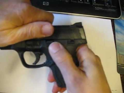 M&P Shield 40 Disassembly and assembly