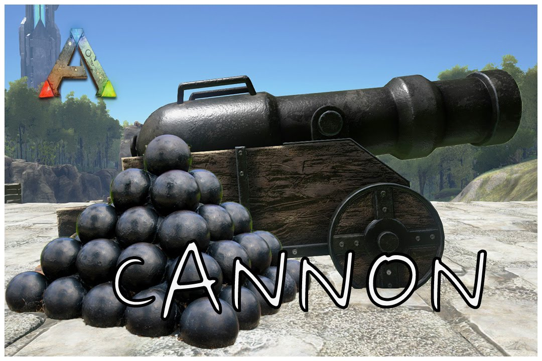 Cannon - Official ARK: Survival Evolved Wiki