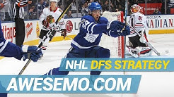 DraftKings & FanDuel NHL DFS Strategy   Hit The Ice   Thursday 5/2   Awesemo.com