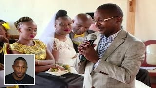 MURANG'A GOVERNOR MWANGI WA IRIA SPEECH AT SENATOR IRUNGU KANG'ATA & WAMBUI WEDDING