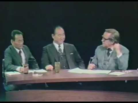Part 1 - Rev. Moon's live interview from 1972 with Al Capp