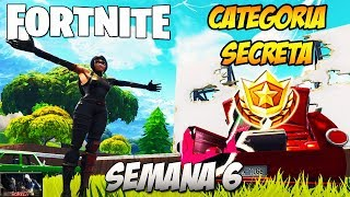 Category SECRET Week 6 location-Season 5 Fortnite FREE TIER LOCATION