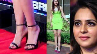 Rakul Preet's Milky Legs & Cute Feet Close Up Hot Edit