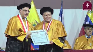 Tema: Distinción de Doctor Honoris Causa al Dr. Sari Hanafi