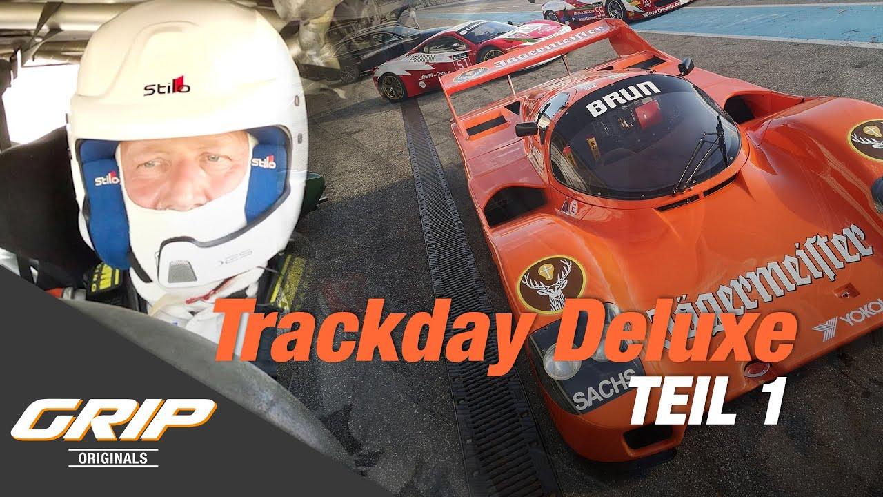 Niki im Aston Martin Vantage GT3  ?? - Trackday Deluxe Teil 1 I GRIP Originals