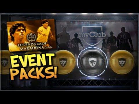 Maradona Event Packs