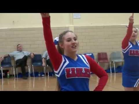Mt Ararat Middle School Cheerleaders