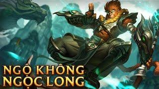 Ngộ Không Ngọc Long - Jade Dragon Wukong - Skins lol