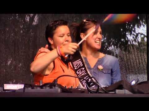 Utrecht Canal Pride 2018 (30/30) - Straatfeest Domplein met DJ Bo Monde & Miss Gay Holland 2018