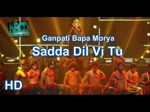 Sadda Dil Vi Tu (Ga Ga Ganpati Bapa Morya) - ABCD (Any Body Can Dance) - HD - Full Finale Dance
