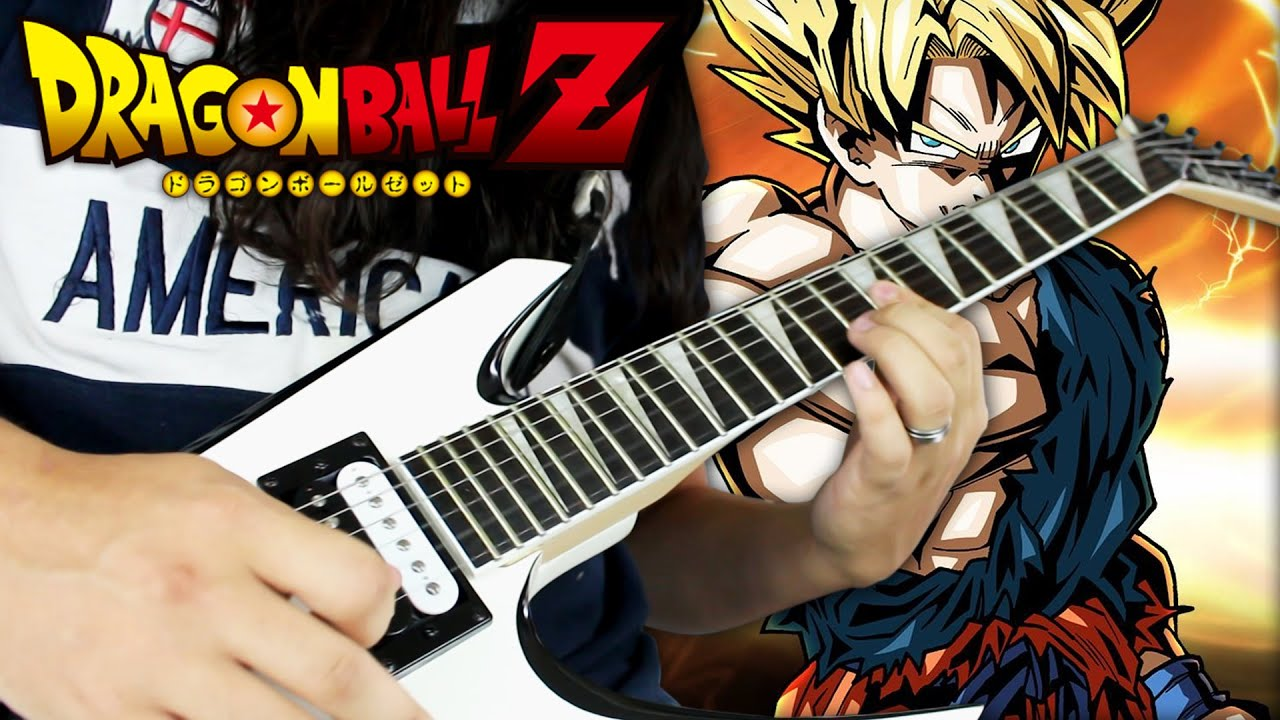 dragon ball z cha la head cha la guitar c with loop