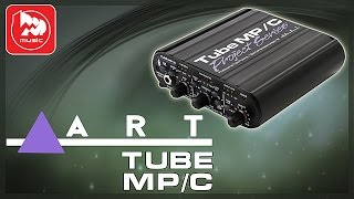 Предусилитель ART TUBE MP/C (Mic Pre-Amp Review )