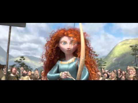 Disney/Pixar's Brave - Merida's Amazing Archery Skills!