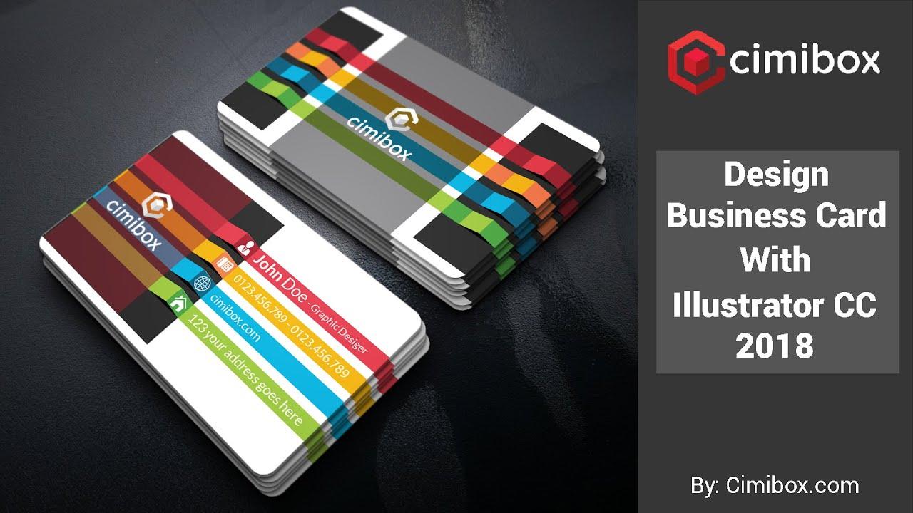 Illustrator cc 2018 business card design photoshop method illustrator cc 2018 business card design reheart Choice Image