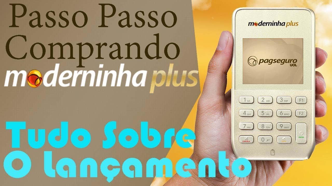 7bb9b05dd Como Comprar a Moderninha Plus   Configurar Conta - YouTube