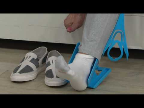 Set of 2 Sock Sliders by Lori Greiner on QVC